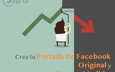 Crea tu Portada de Facebook Original y con Buenas Medidas