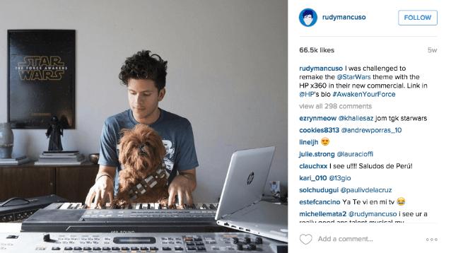 Estrategias de Marketing Digital para Instagram -Ejemplo de campaña