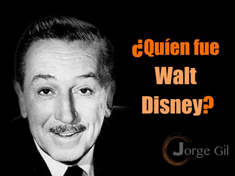Historia y Biografía de Walt Disney Resumida
