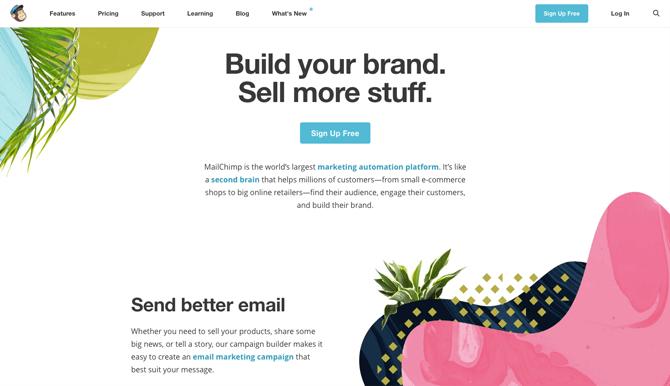 Plataformas de Emailing gratuitas mailchimp