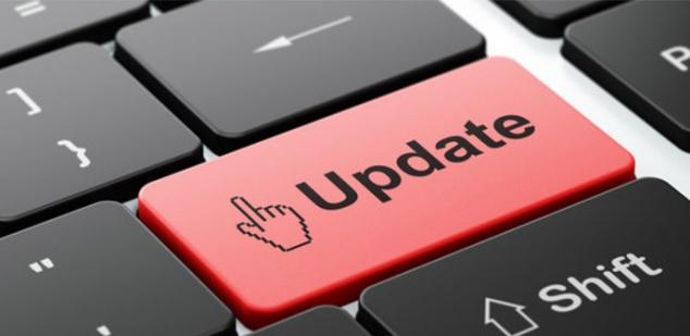 aplicación móvil actualizaciones cambios