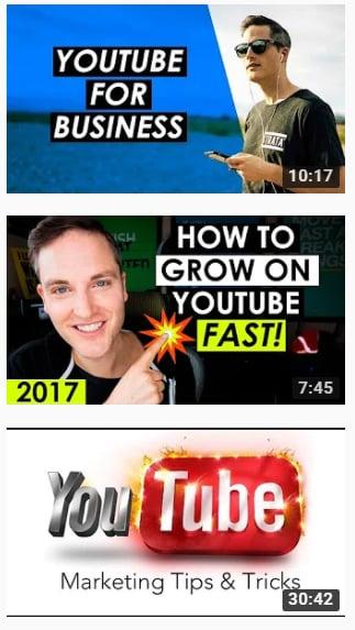 como poner miniaturas en youtube