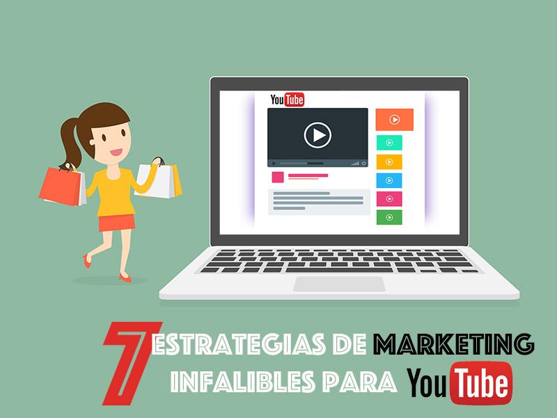 7 Estrategias de Marketing para YouTube Poco Conocidas