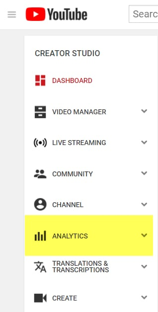 marketing online analytics youtube